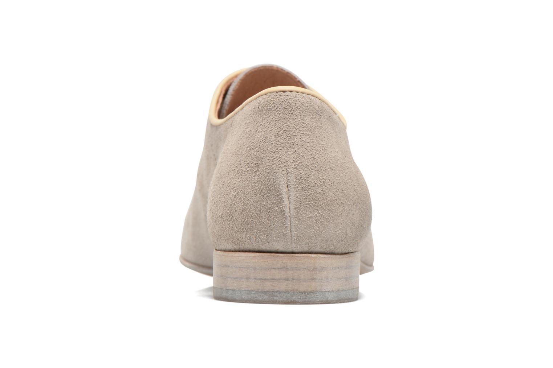 Zapatos con cordones Muratti Candi Gris vista lateral derecha