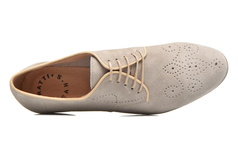 Zapatos con cordones Muratti Candi Gris vista lateral izquierda