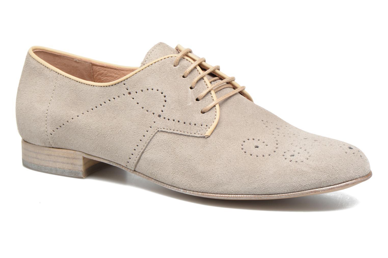 Chaussures à lacets Muratti Candi Gris vue détail/paire