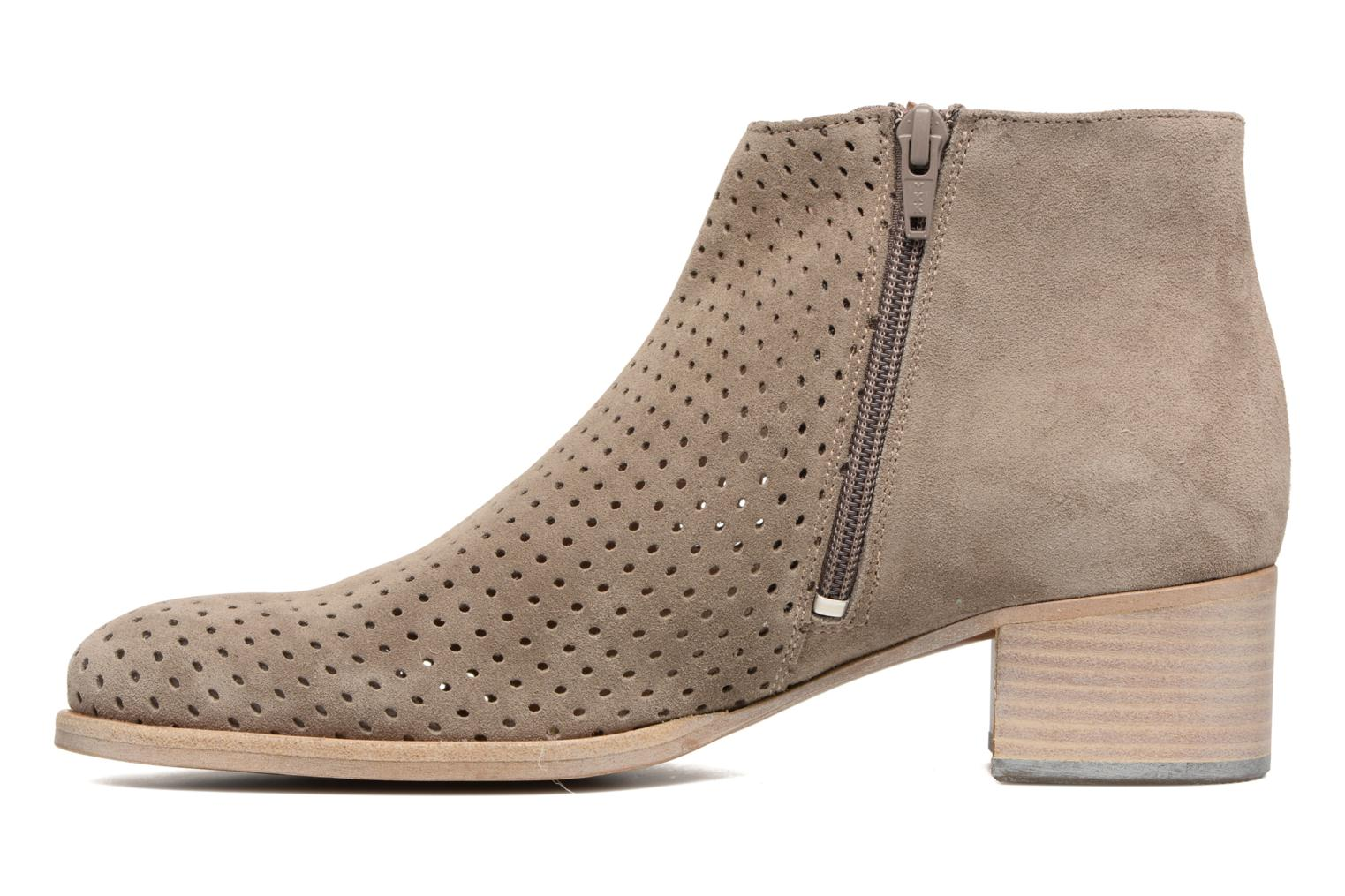 Ankle boots Muratti Wine Grey front view
