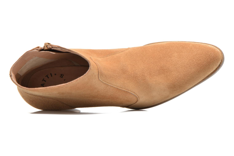 Bottines et boots Muratti Romane Marron vue gauche