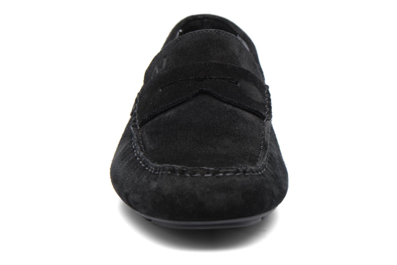 Mocassins Armani Jeans Moc Noir vue portées chaussures