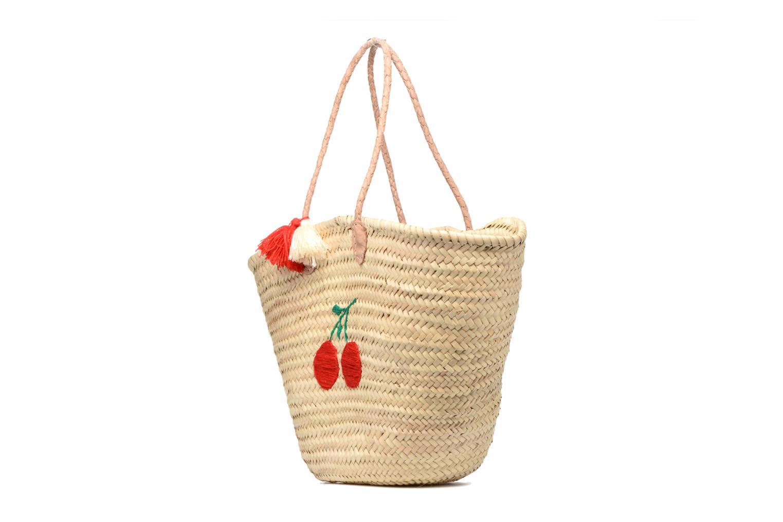 Handtaschen Etincelles Panier artisanal Cerise rot schuhe getragen