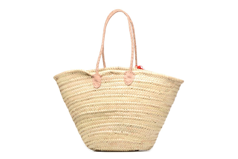 Handtaschen Etincelles Panier artisanal Cerise rot ansicht von vorne