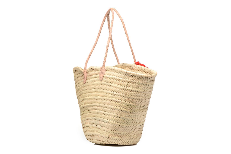 Handtaschen Etincelles Panier artisanal Cerise rot ansicht von rechts