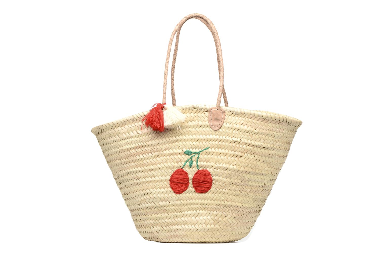 Handtaschen Etincelles Panier artisanal Cerise rot detaillierte ansicht/modell