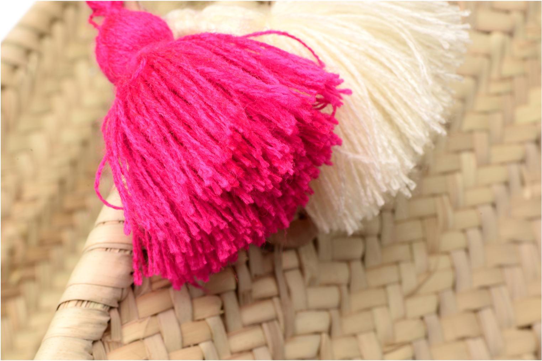 Panier artisanal Love Fuschia Fuschia