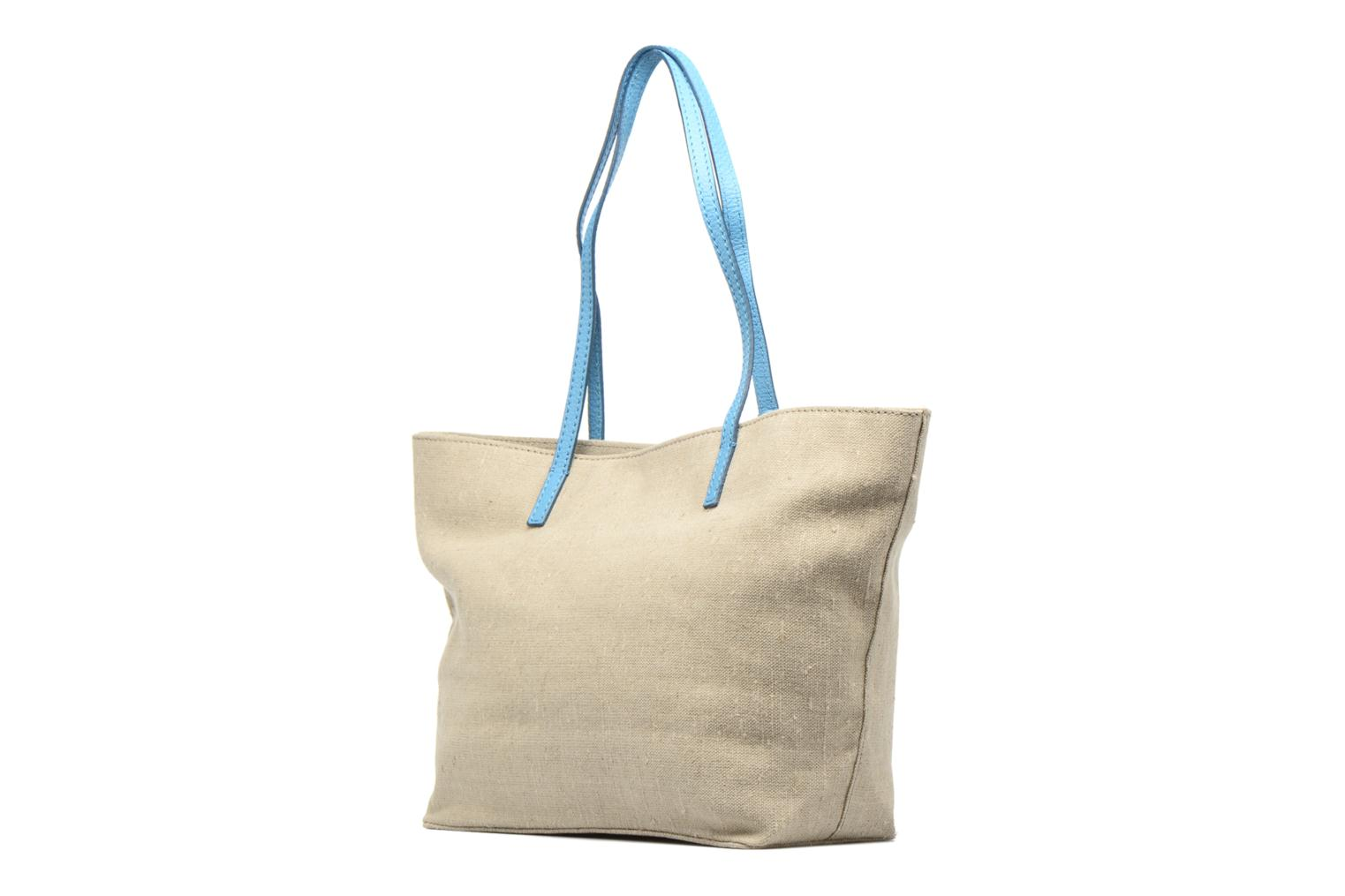 Handbags Loxwood Shopper Beige view from the right