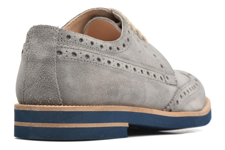 Chaussures à lacets Mr SARENZA Coquitlam Gris vue face