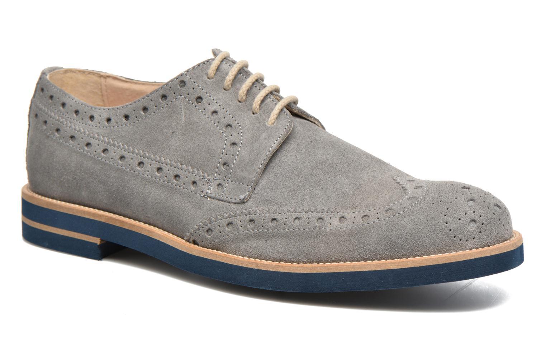 Chaussures à lacets Mr SARENZA Coquitlam Gris vue droite