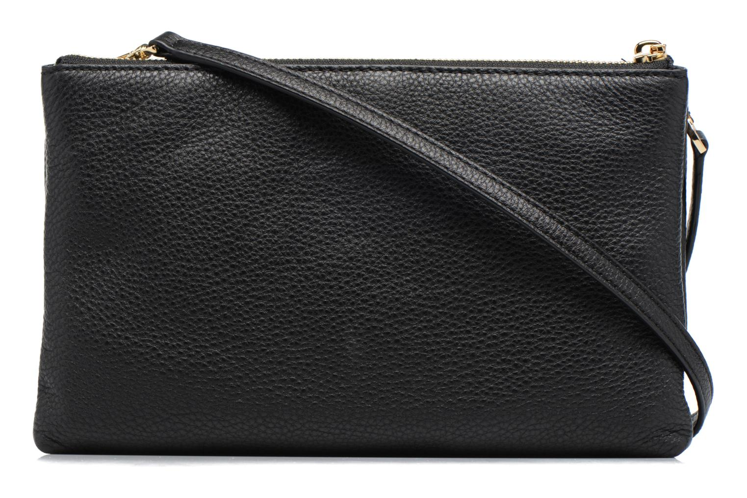 ADELE DBL GUSSET CROSSBODY Black