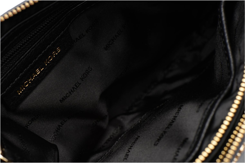 Handtaschen Michael Michael Kors ADELE DBL GUSSET CROSSBODY schwarz ansicht von hinten