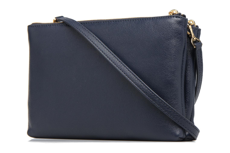 Handtaschen Michael Michael Kors ADELE DBL GUSSET CROSSBODY blau ansicht von rechts