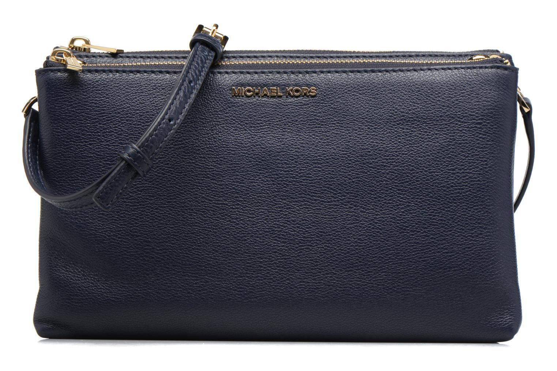 Handtaschen Michael Michael Kors ADELE DBL GUSSET CROSSBODY blau detaillierte ansicht/modell