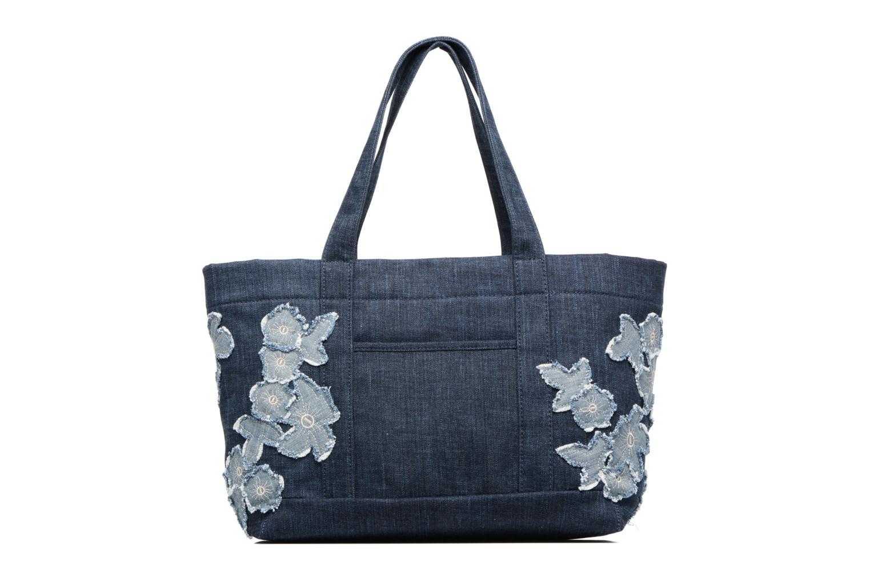 Handtaschen Michael Michael Kors DENIM ITEM XL TOTE blau ansicht von vorne