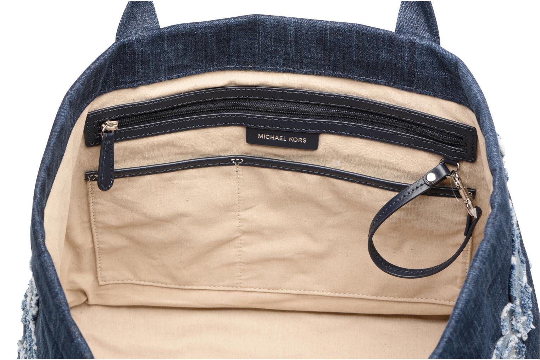 Handtaschen Michael Michael Kors DENIM ITEM XL TOTE blau ansicht von hinten