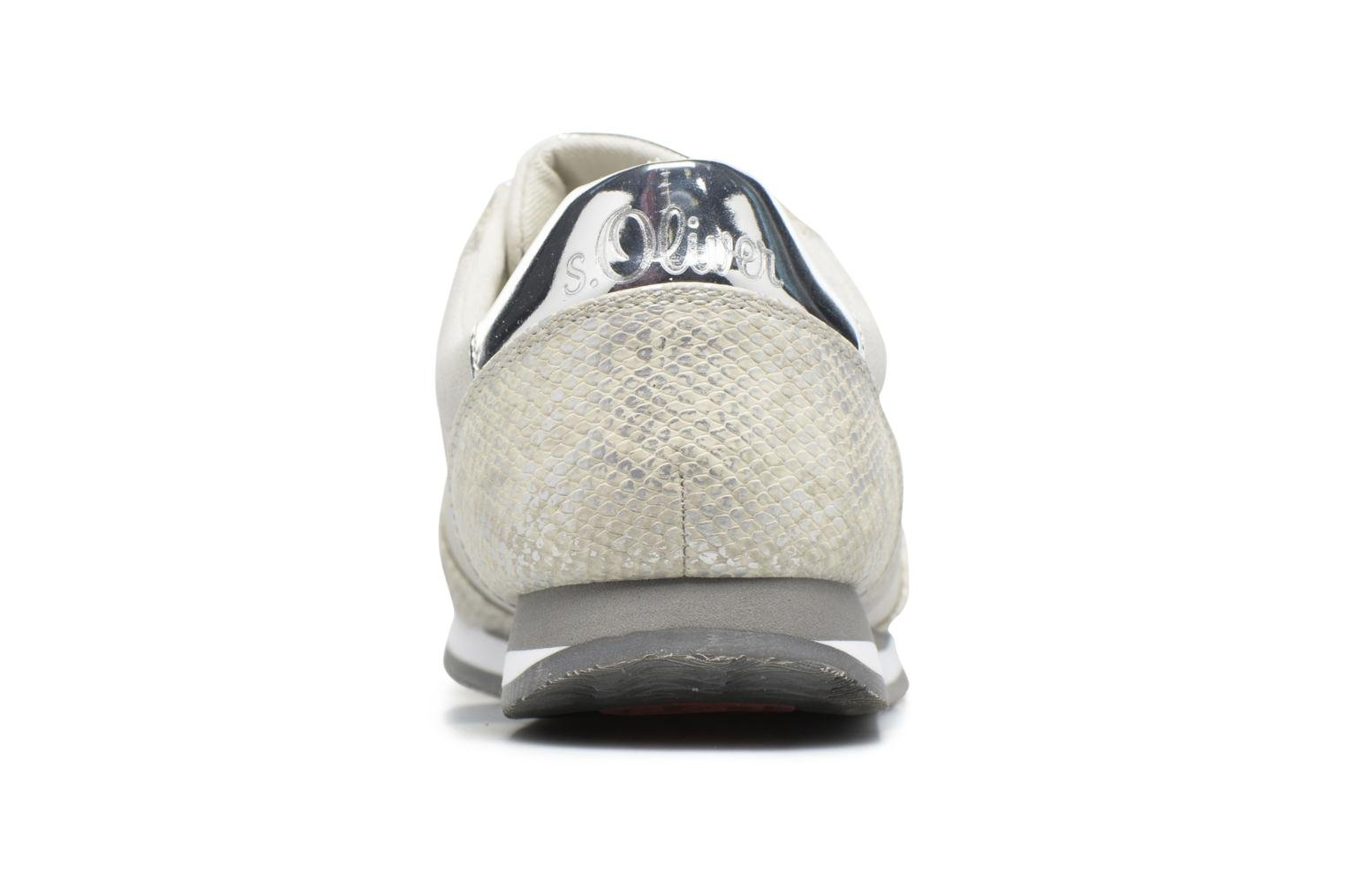 Baskets S.Oliver Ananas Blanc vue droite