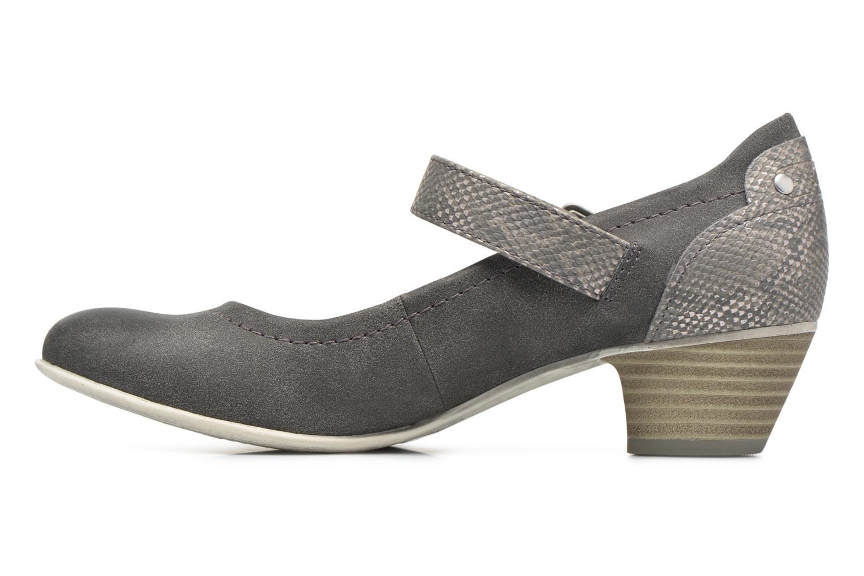 Zapatos de tacón S.Oliver Tadille Gris vista de frente