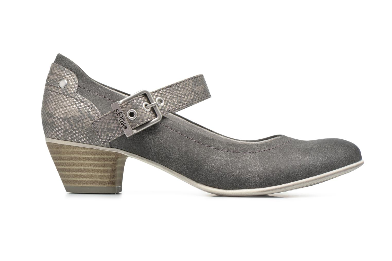 Zapatos de tacón S.Oliver Tadille Gris vistra trasera