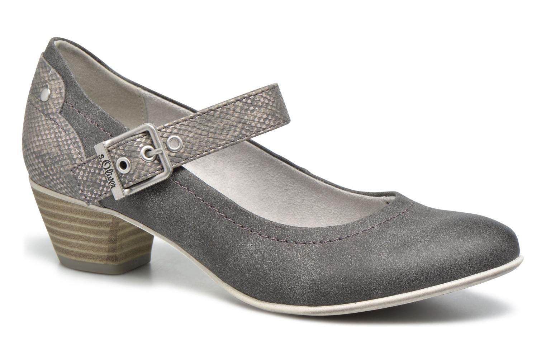 Zapatos de tacón S.Oliver Tadille Gris vista de detalle / par