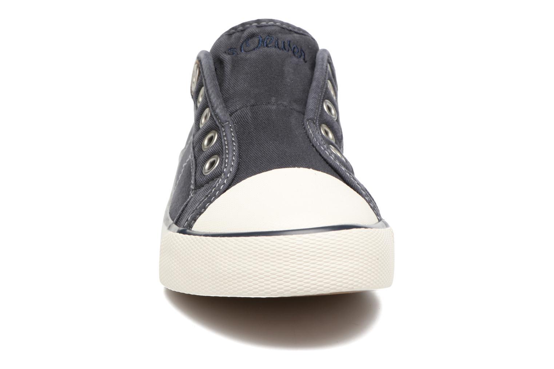 Baskets S.Oliver Topinambour Bleu vue portées chaussures