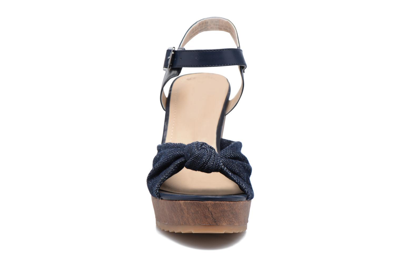 Sandales et nu-pieds S.Oliver Pawel Bleu vue portées chaussures
