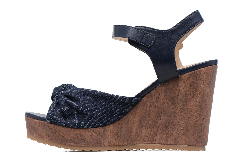 Sandales et nu-pieds S.Oliver Pawel Bleu vue face
