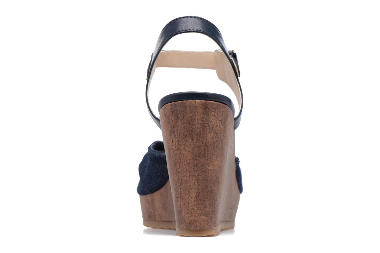 Sandales et nu-pieds S.Oliver Pawel Bleu vue droite