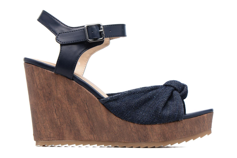 Sandales et nu-pieds S.Oliver Pawel Bleu vue derrière