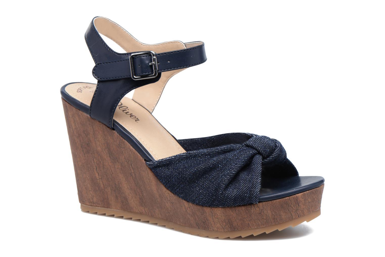 Sandales et nu-pieds S.Oliver Pawel Bleu vue détail/paire
