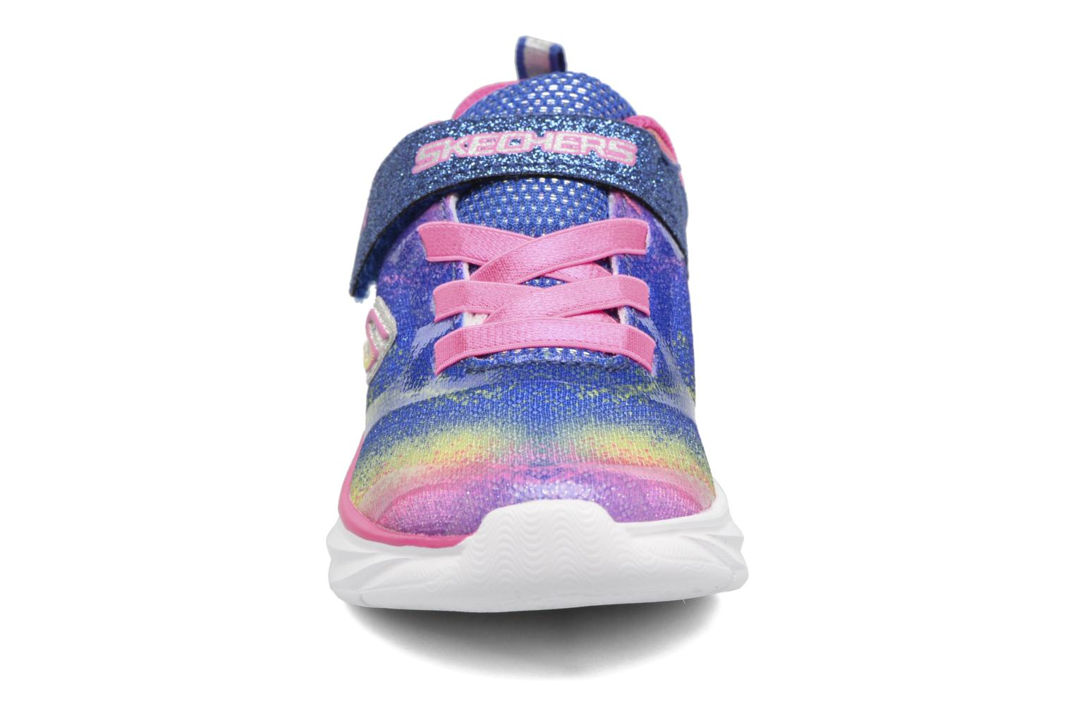 Baskets Skechers Pepsters Bling Brite Multicolore vue portées chaussures