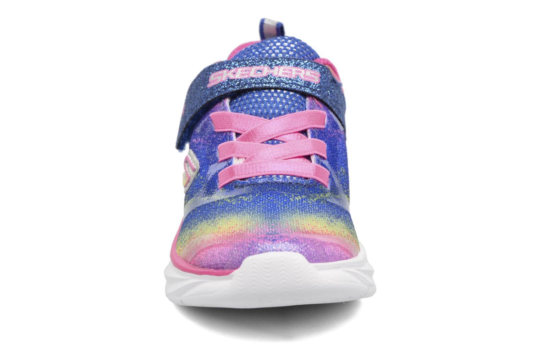 Baskets Skechers Pepsters Bling Brite Multicolore vue portées chaussures