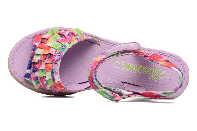 Sandalen Skechers Tikis Sunny Splash Roze links