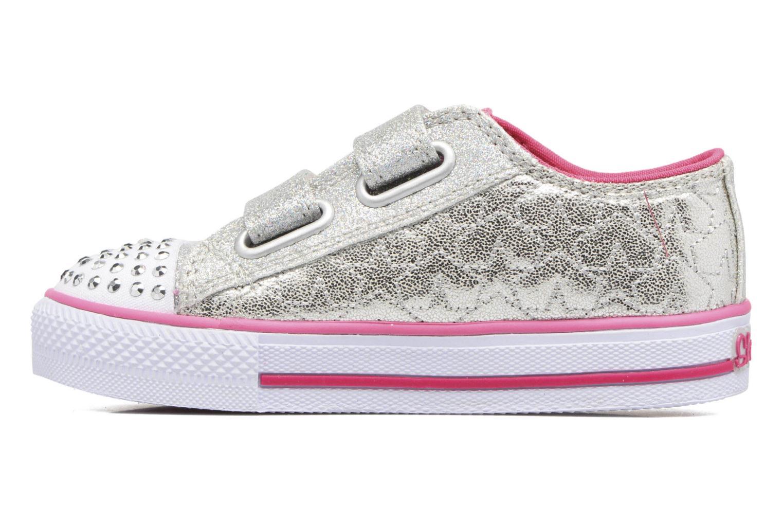 Shuffles Starlight Style Silver/Hot Pink