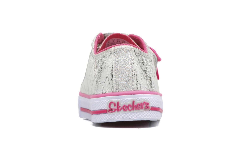 Sneakers Skechers Shuffles Starlight Style Grigio immagine destra