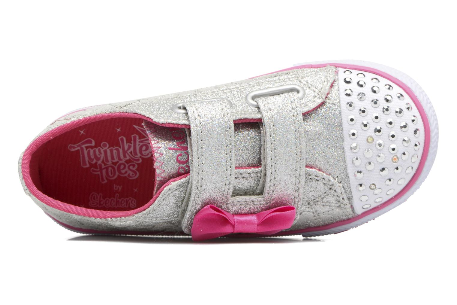 Shuffles Starlight Style Silver/Hot Pink