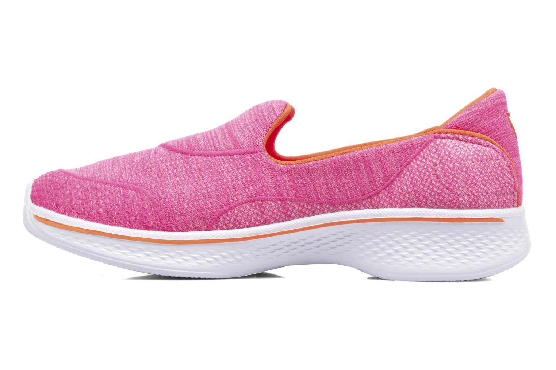 Sneakers Skechers Go Walk 4 Speedy Sports Roze voorkant
