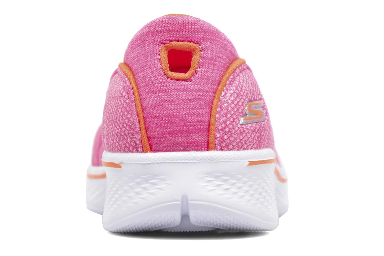 Baskets Skechers Go Walk 4 Speedy Sports Rose vue droite