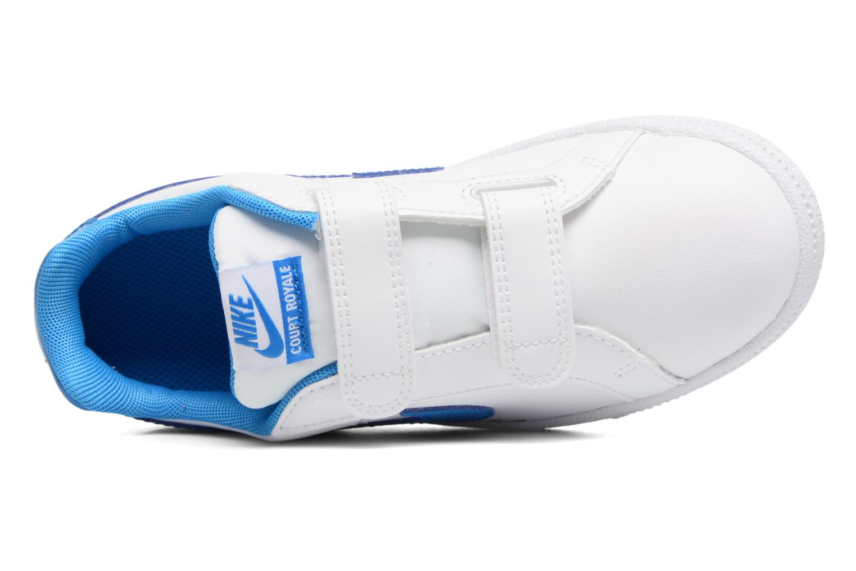 Baskets Nike Nike Court Royale (Psv) Blanc vue gauche