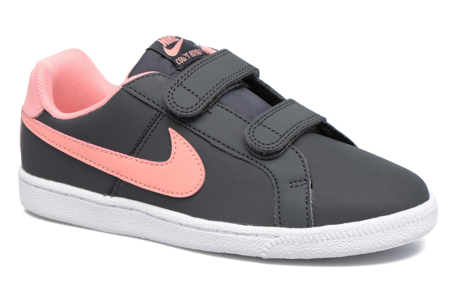 Elemental Rose/Elemental Rose-Vast Grey Nike Nike Court Royale (Psv) (Rose)