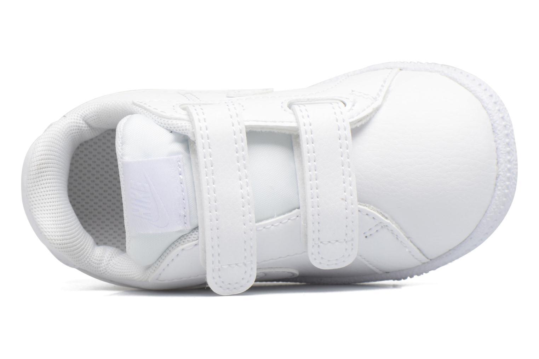 Sneakers Nike Nike Court Royale (Tdv) Bianco immagine sinistra