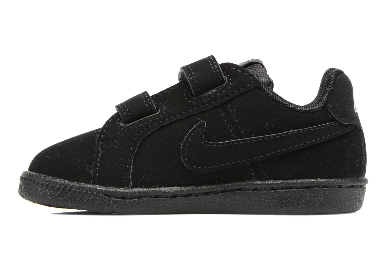 Deportivas Nike Nike Court Royale (Tdv) Negro vista de frente