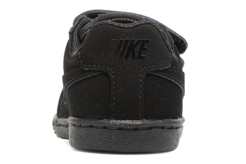 Deportivas Nike Nike Court Royale (Tdv) Negro vista lateral derecha