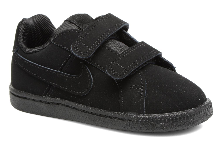Baskets Nike Nike Court Royale (Tdv) Noir vue détail/paire