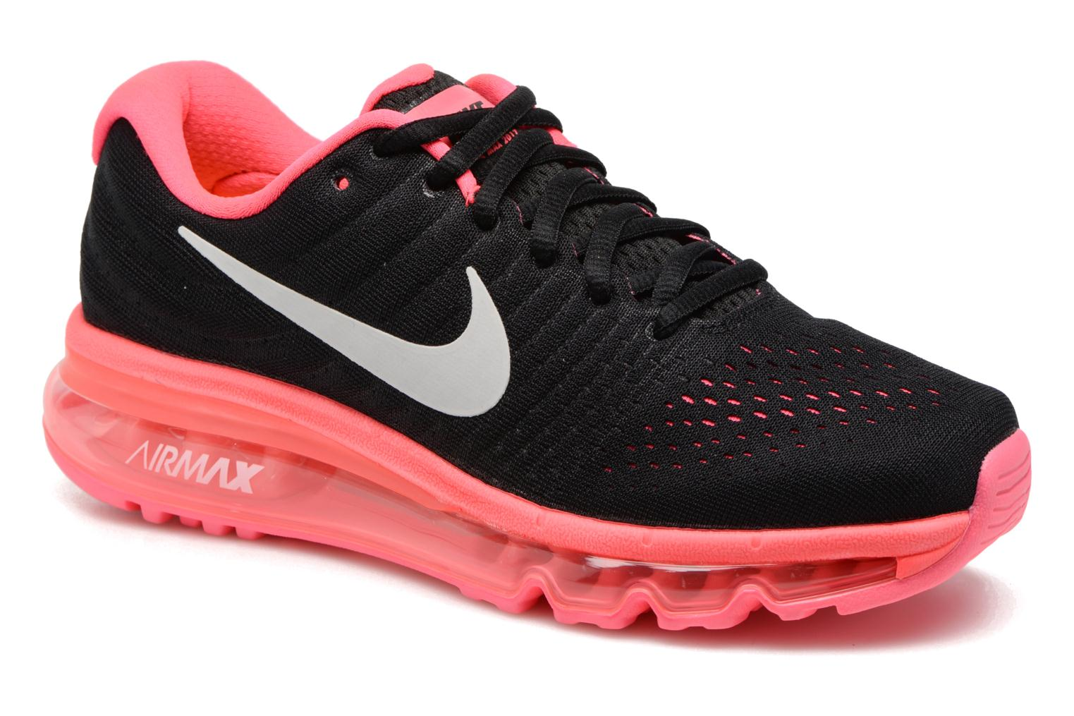 Nike Air Max 2017 (Gs) Black/White-Racer Pink-Hot Punch