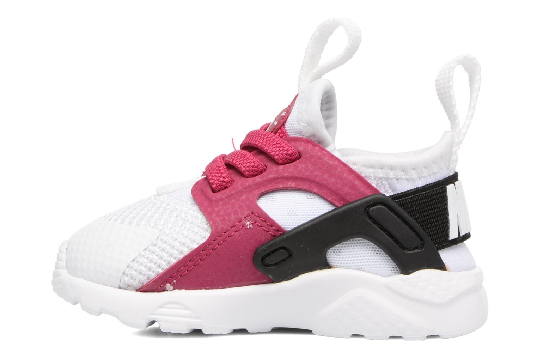 White/Sport Fuchsia-Black-White Nike Nike Huarache Run Ultra (Td) (Blanc)