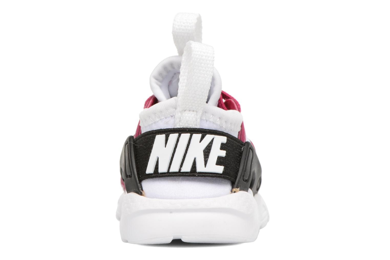 Nike Huarache Run Ultra (Td) White/Sport Fuchsia-Black-White