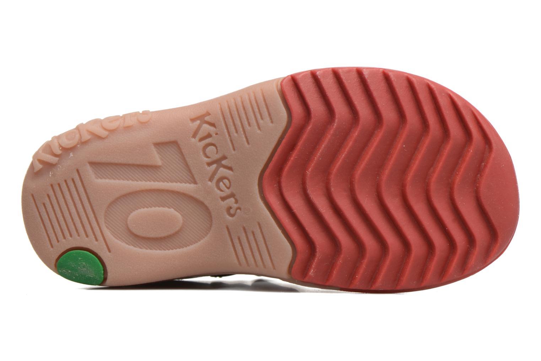 Sandalen Kickers Platiback Beige boven