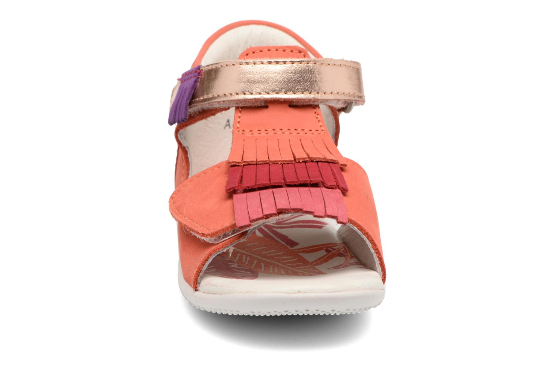 Sandalen Kickers Bihilana rosa schuhe getragen