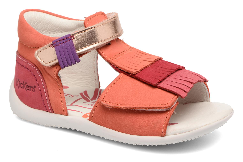 Sandalen Kickers Bihilana rosa detaillierte ansicht/modell